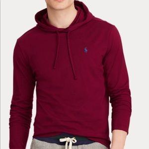 Polo long sleeve with hoodie